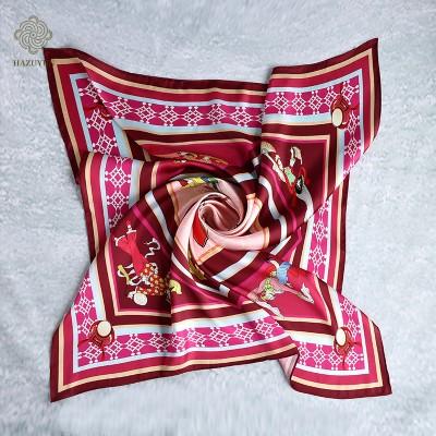 全国地域文化丝巾定制