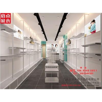 广州专业做童装货架的厂家 新款大小童服装展架