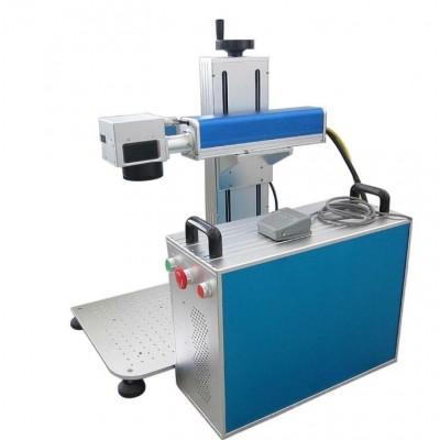 全自动流水线激光打码机 紫外塑胶玻璃玉石木头激光打标机