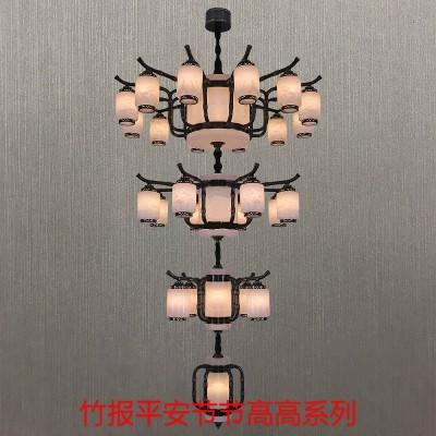 全铜云石吊灯 西班牙云石吊灯 天然云石吊灯